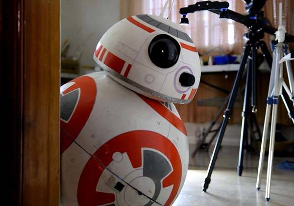 Life-Size App-Controlled BB-8 Droid