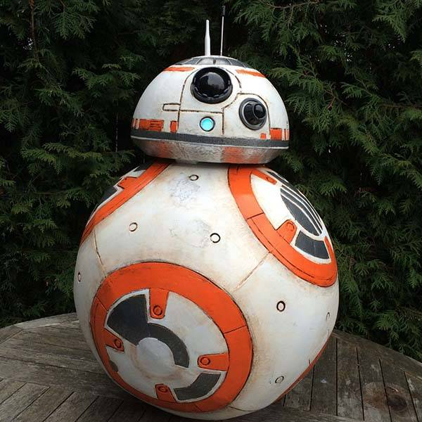 Make Your Own Life Size BB-8 Droid Replica