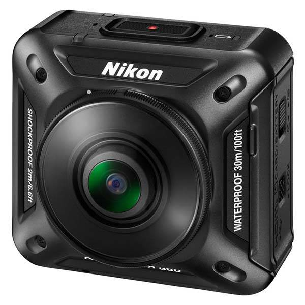 Nikon KeyMission 360 Action Camera with Dual Lenses and Image Sensors