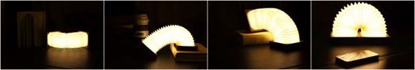 Orilamp is an Origami Inspired Smart LED Lamp