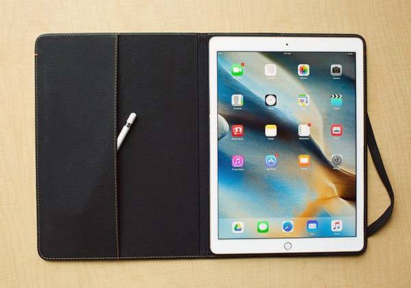 Pad&Quill Oxford iPad Pro Leather Case
