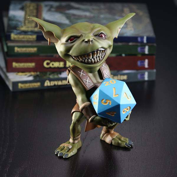 Pathfinder Goblin Vinyl Figural Money Bank