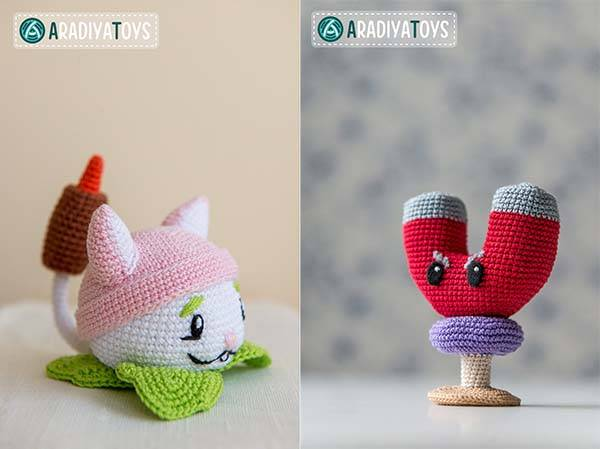 Plants vs Zombies Themed Crochet Patterns