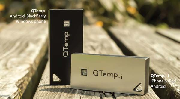 QTemp Ultra Compact Smart Weather Station Prevents Your Skin from Excess UV Radiation