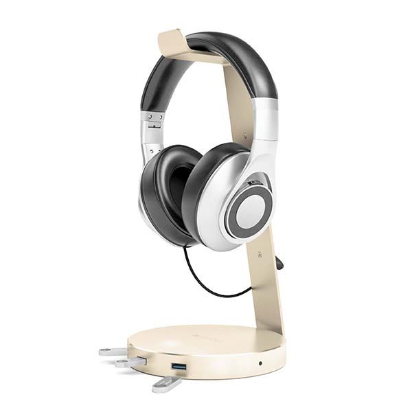 Satechi Aluminum Headphone Stand with USB 3.0 Hub