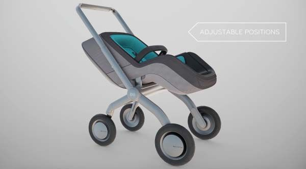Smartbe Intelligent Self-Propelled Baby Stroller