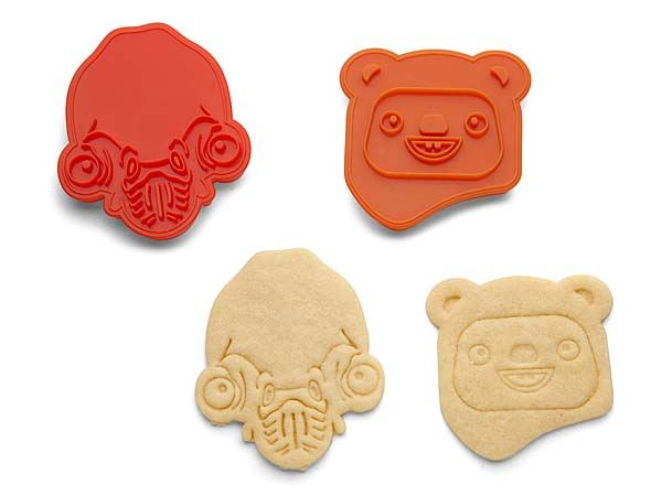 Star Wars Rebel Friends Hoth and Endor Cookie Cutter Sets