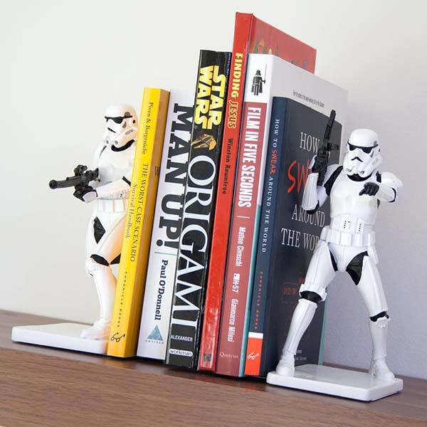 Star Wars Stormtrooper Bookends