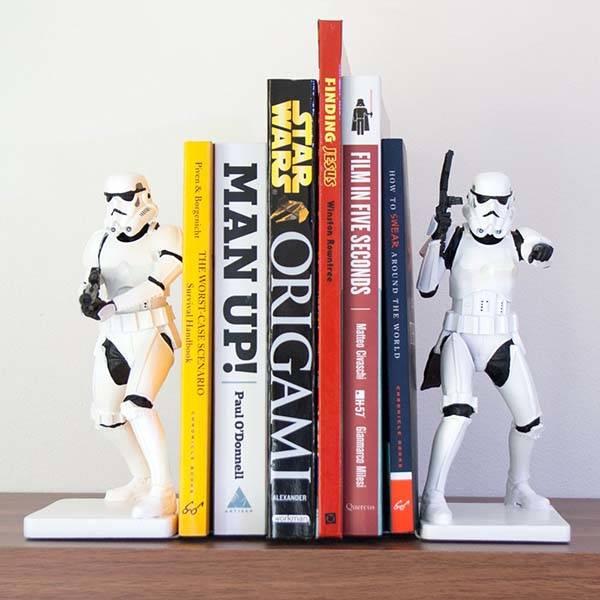Star Wars Stormtrooper Bookends