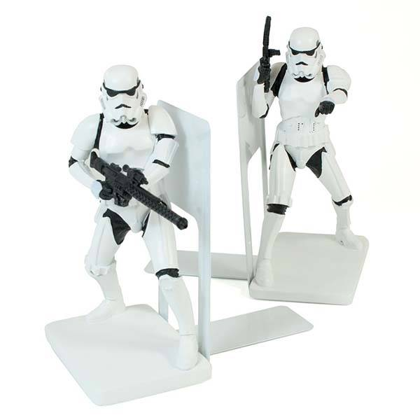Star Wars Stormtrooper Bookends Guard Your Valuable Books