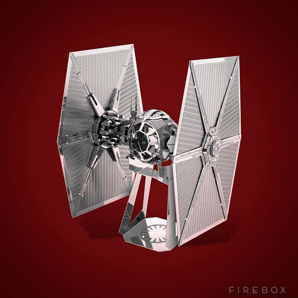 Star Wars The Force Awakens 3D Metal Model Kits