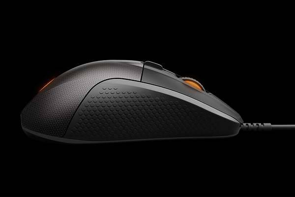 SteelSeries Rival 700 Modular Gaming Mouse with Customizable OLED Display