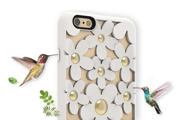 SwitchEasy Fleur iPhone 6s/ 6s Plus Case Boasts Charming 3D Flowers