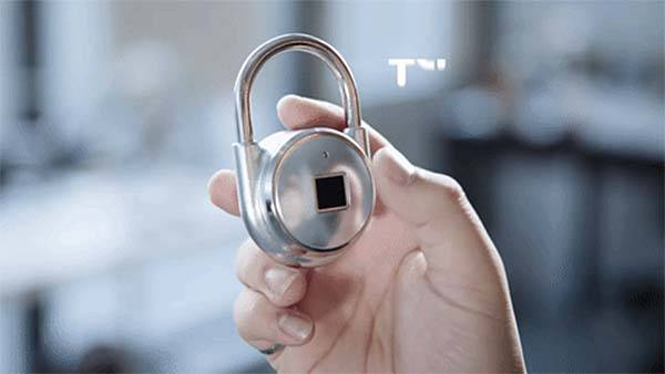 TAPP Smart Fingerprint Padlock with AES 128-Bit Encryption