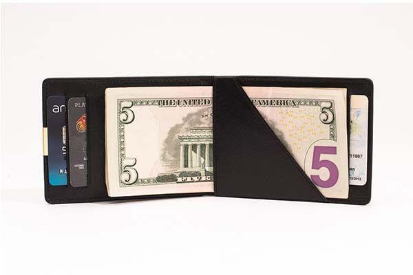 DUN Ultra Slim Bifold Leather Wallet