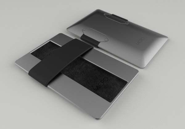 Micro Aluminum Minimal Wallet