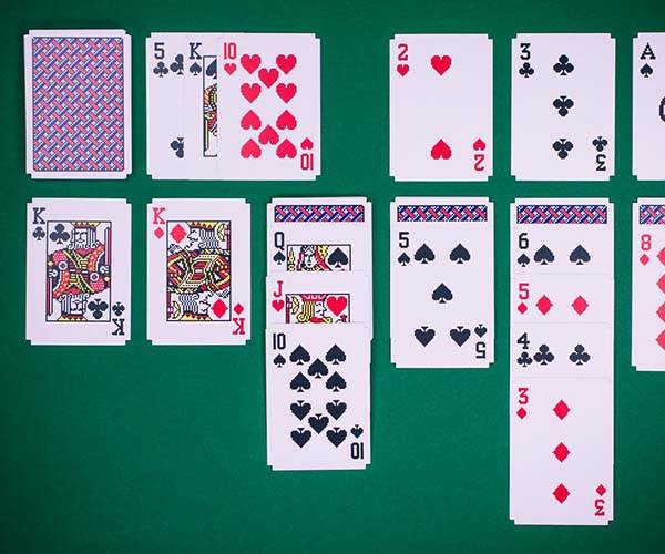 Solitaire Pixlated Playing Cards