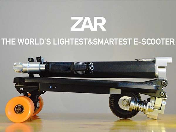ZAR Foldable Electric Scooter Can be Stored in Your Backpack