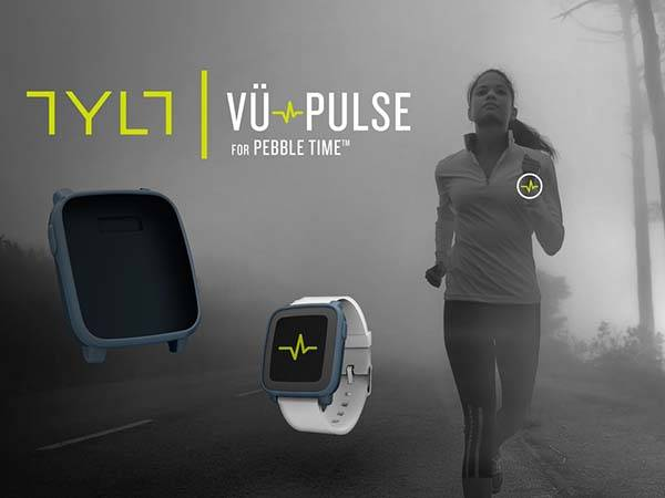 TYLT VÜ Pulse Pebble Time Case Features Heart Rate Monitor and Wireless Charging