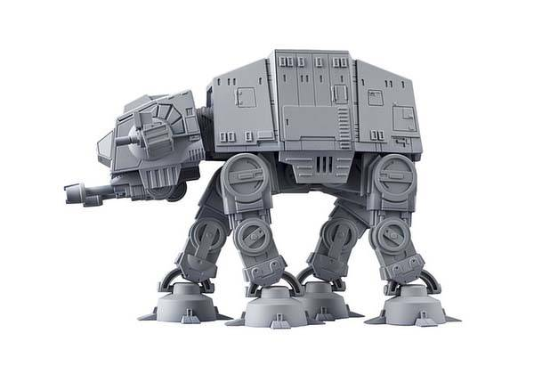 Variable Action D-Spec Star Wars AT-AT Model