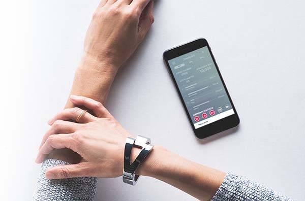 WiseWear Socialite Fitness Tracker Equipped Smart Bracelets