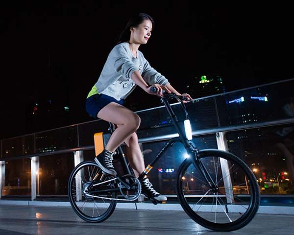 Yunbike C1 LIMITED App-Enabled Lightweight Electric Bike