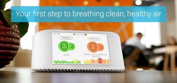 AirVisual Node Smart Air Quality Monitor