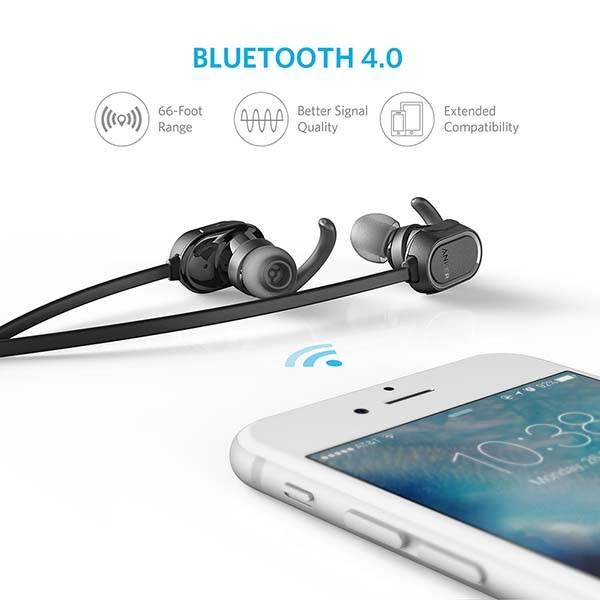 Anker SoundBar Sport Bluetooth Earbuds