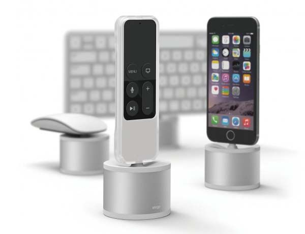 Elago D Stand Charging Station for iPhone, iPad mini, Siri Remote and Magic Mouse as well Keyboard