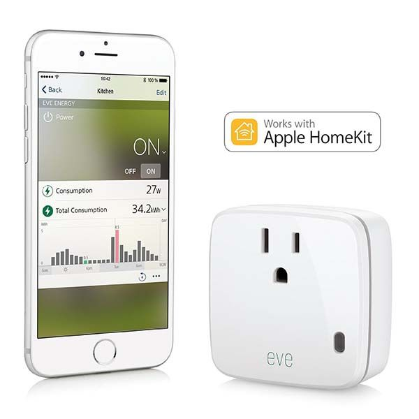 Elgato Eve Energy HomeKit Enabled Smart Outlet
