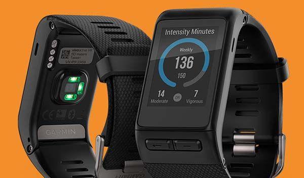Garmin Vivoactive HR GPS Smartwatch Boasts Integrated Heart Rate Monitor