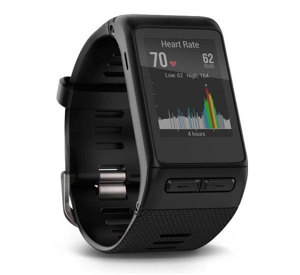 Garmin Vivoactive HR GPS Smartwatch Boasts Integrated Heart Rate Monitor