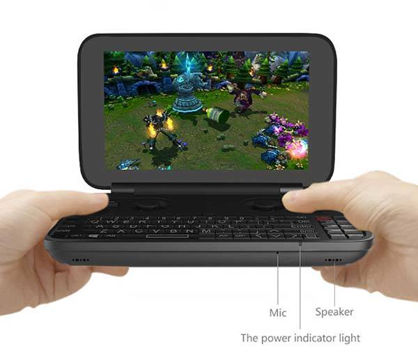 GPD WIN Pocket-Friendly Handheld Laptop with 5.5-Inch Screen and Game Controller
