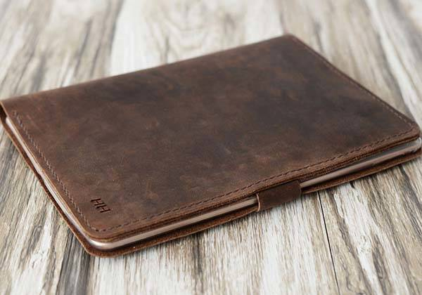 Handmade Personalized iPad Pro Leather Case