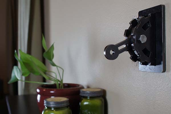 Handmade Steampunk Light Switch