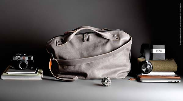 Hard Graft Offhand Leather Shoulder Bag