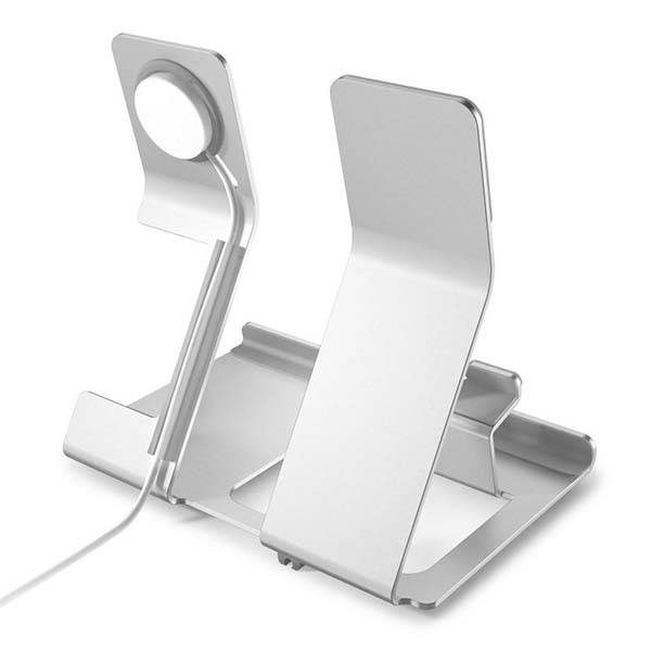 iComboStand Aluminum Charging Station for Apple Watch and iPhone