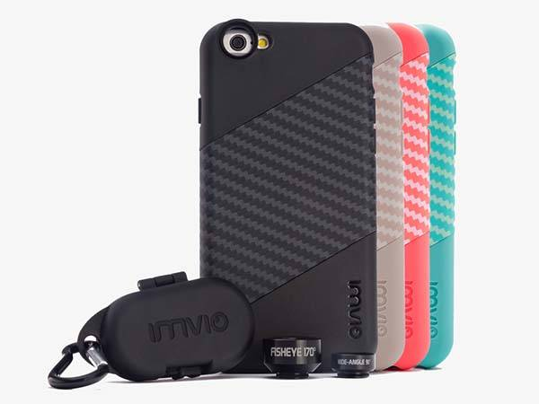 Imvio iPhone 6s/ 6s Plus Case with iPhone Lenses