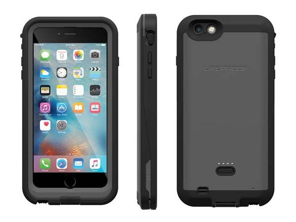 LifeProof FRĒ Power Waterproof iPhone 6s Plus Case with Backup Battery