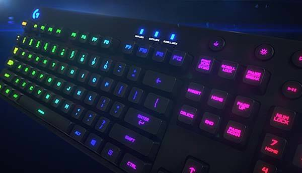 Logitech G810 Orion Spectrum Mechanical Gaming Keyboard