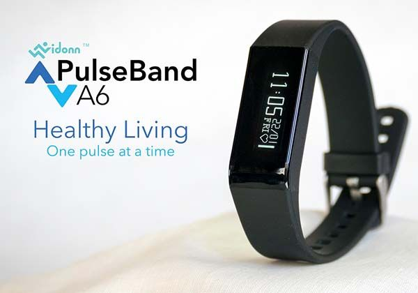 PulseBand A6 Affordable Fitness Tracker with Heart Rate Monitor