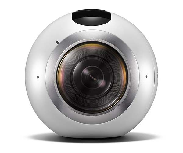 Samsung Gear 360 Action Camera with Dual Fisheye Lenses