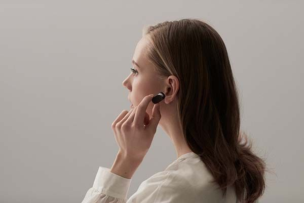 Sony Xperia Ear Smart Wireless Earphone Controlled by Verbal Commands