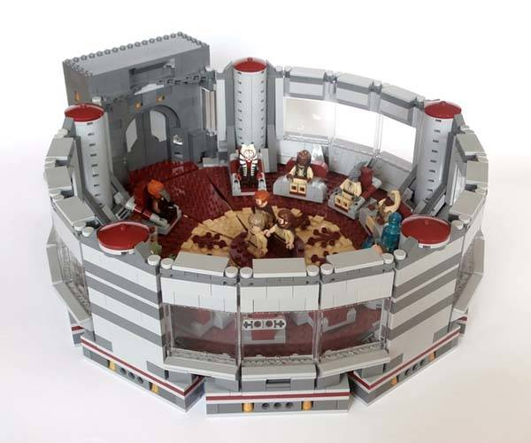 Star wars jedi high council chamber lego set gadgetsin for Chambre lego