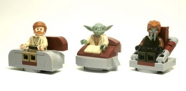 Star Wars Jedi High Council Chamber Lego Set Gadgetsin