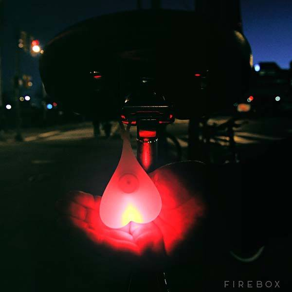 Bike Balls Fun and Secure Bike Tail Light