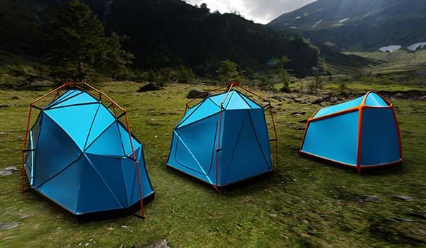 Bolt Lightweight Camping Tent with Full Lightning Protection
