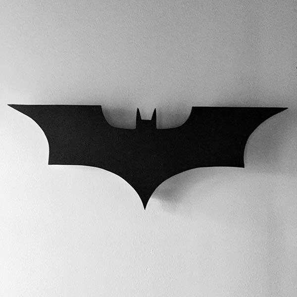 Handmade Batman Sign LED Wall Lamp
