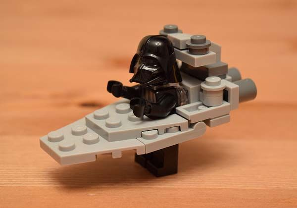 Minimal LEGO Starship Costumes Fit Star Wars Minifigures