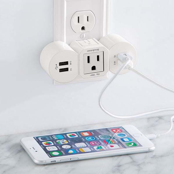 The Multi USB Charger with Two Detachable Charging Units